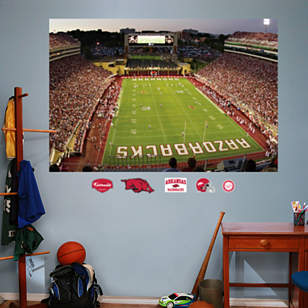 Arkansas Razorbacks - Razorback Stadium Mural